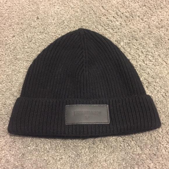 c1f238020 True Religion Ribbed Knit Beanie Watch Cap